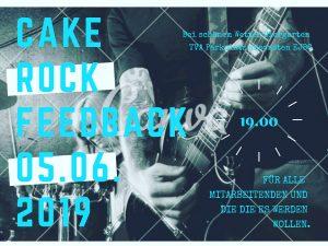 Cake Rock Feedback @ Ev. Jugendwerk Bezirk Geislingen