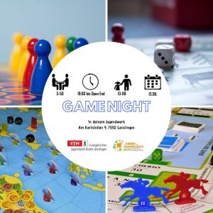 Game Night @ Ev. Jugendwerk Bezirk Geislingen